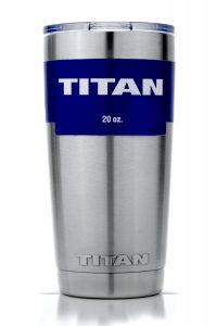TITAN 20 oz. Premium Stainless Steel Vacuum Travel Cup