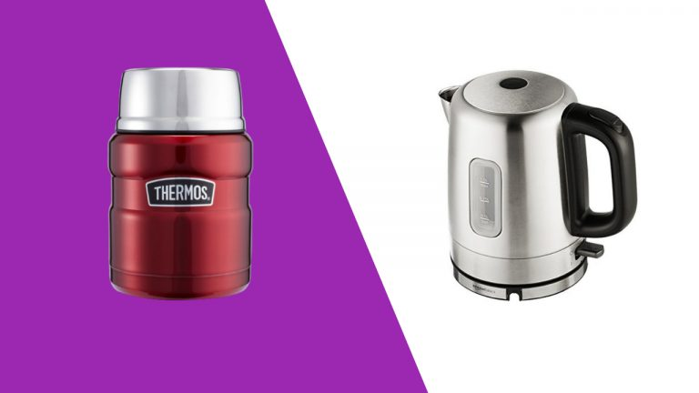 How a Electric Kettle Can be Used With a Thermos